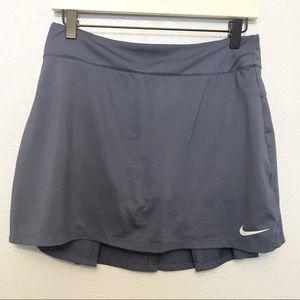 Nike Dri-Fit Tennis Skort Charcoal Gray